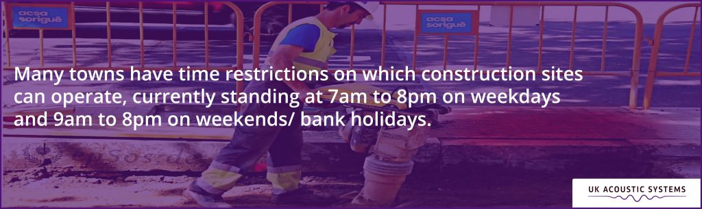 Construction Time Restrictions: