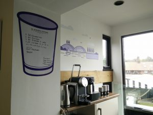 Kitchen and coffee board